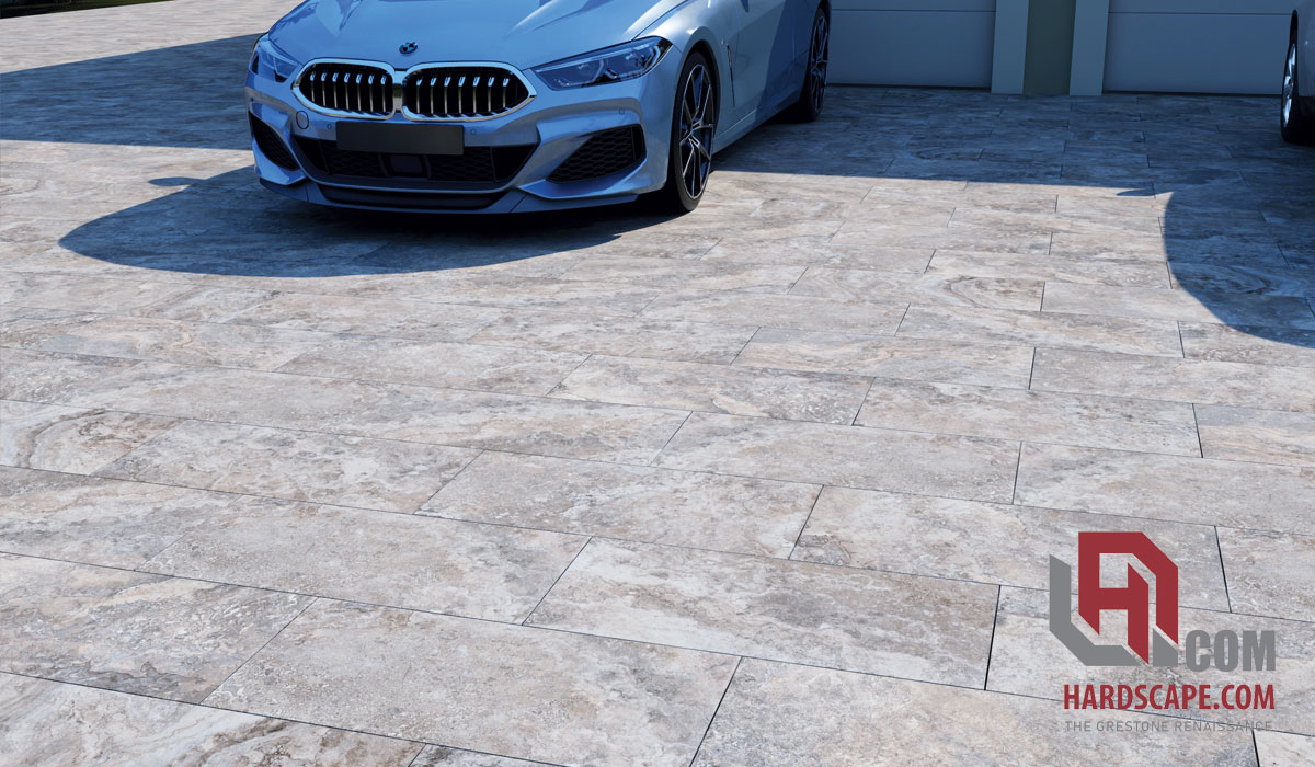 3cm Tuscany Silver Porcelain Paver