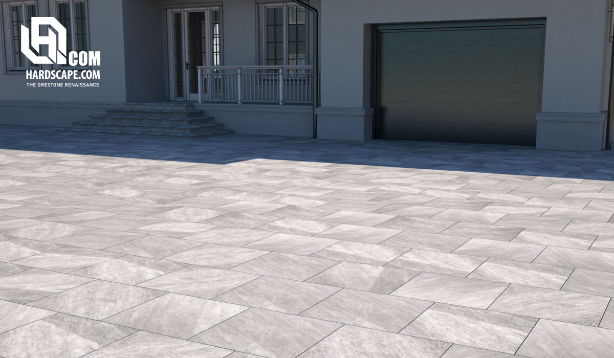 3cm Quartz Griss Porcelain Pavers