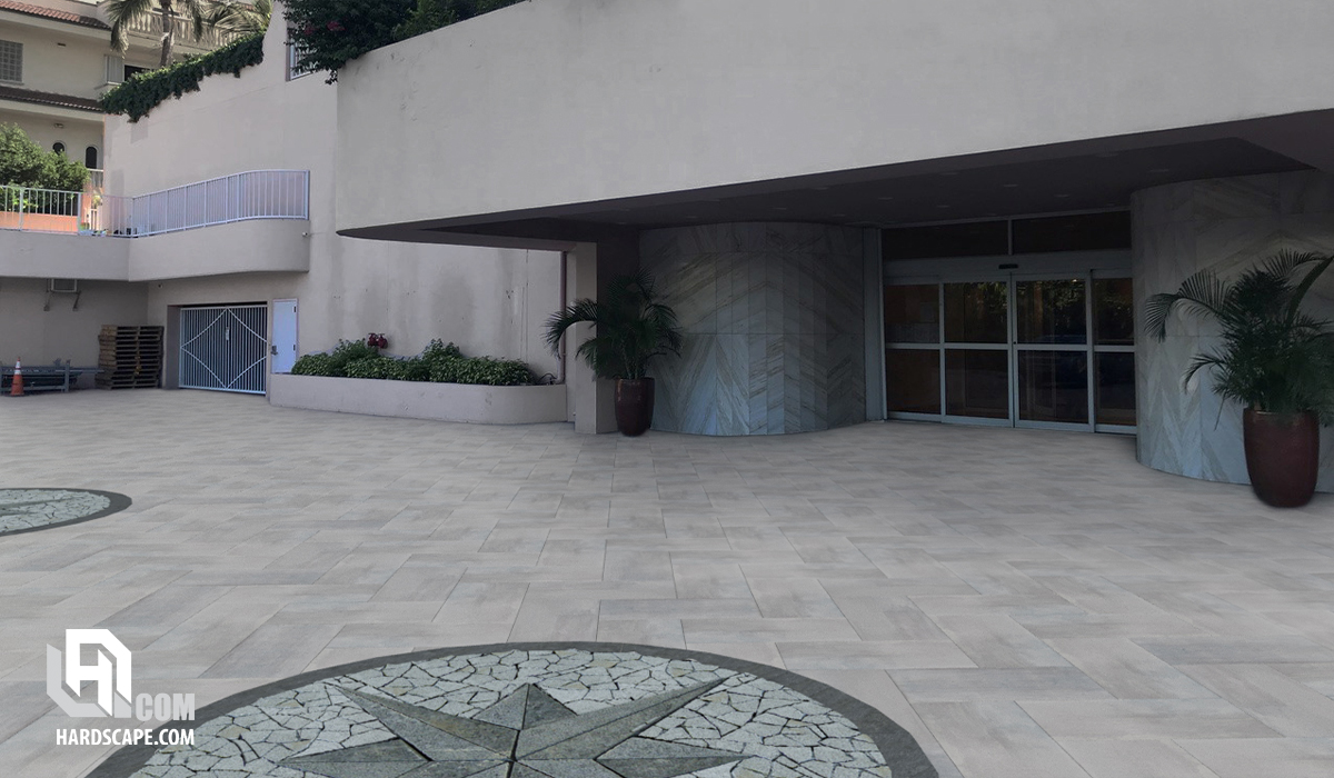 3cm Silver Grey Porcelain Pavers